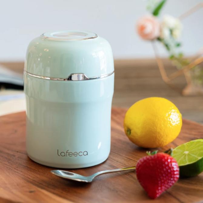 Lafeeca Thermos Food Jar Vacuum Insulated - Blue