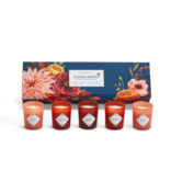 Two's Company Blooms and Berries S/5 Scented Candles in Gift Box