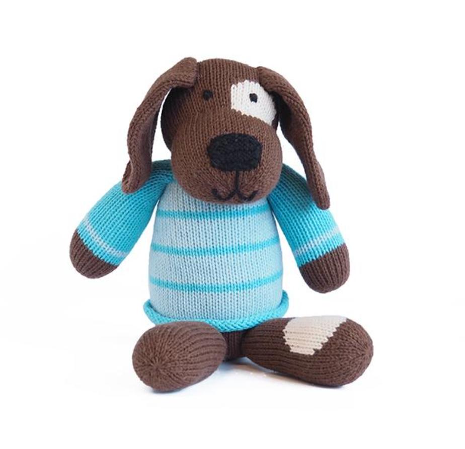 Melange Spotted Dog in Sweater