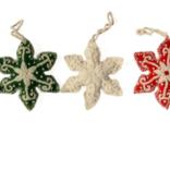 Melange Snowflake Ornament
