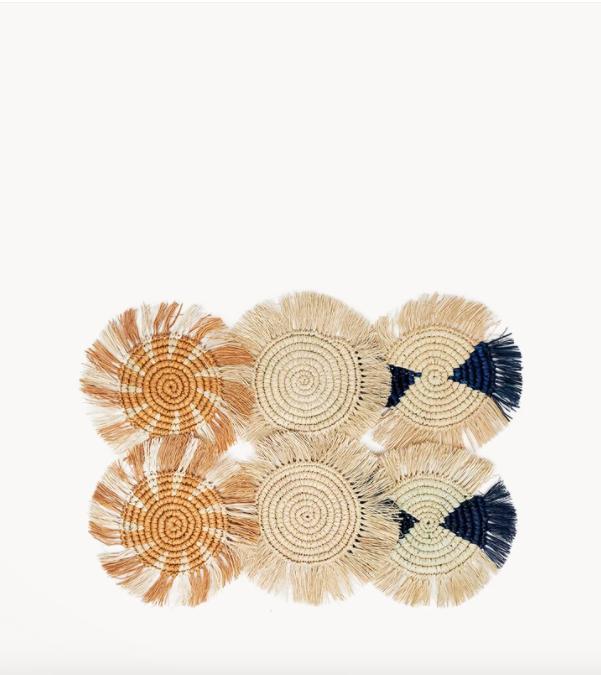 Korissa Flor Coaster Ocean - Set of 6