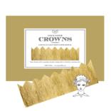 Tops Malibu Gold Metallic Paper Crowns