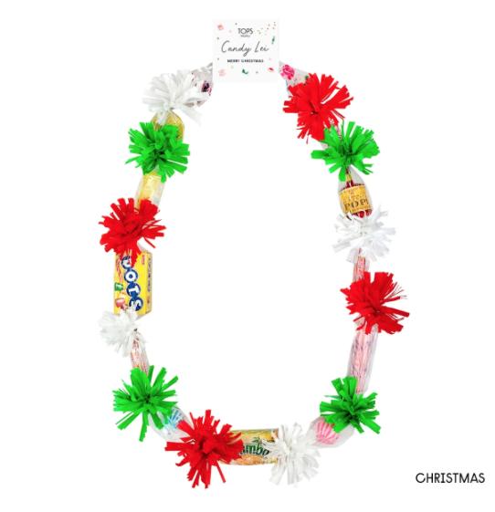 Tops Malibu Candy Lei Christmas
