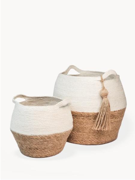Korissa Agora Jar Basket Natural - Small