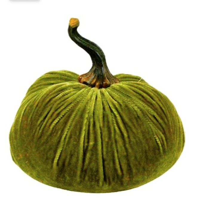 Flora Bunda Velvet Pumpkin Green Jumbo