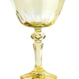 Sir Madam Rialto Glass Coupe Limoncello (Light Yellow) SET OF 2