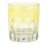 Sir Madam Rialto Glass Old Fashion Limoncello (Light Yellow) SET OF 2