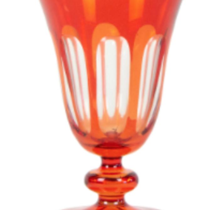 Sir Madam Rialto Glass Tulip Lolita (Dark Red)