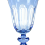 Sir Madam Rialto Glass Tulip Thistle (Light Blue) SET OF 2