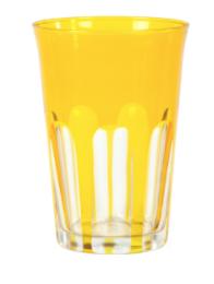 Sir Madam Rialto Glass Tumbler Ginger (Dark Yellow)