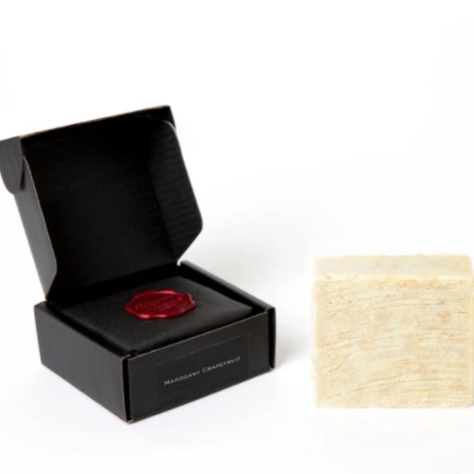 Thompson Ferrier Mahogany & Grapefruit Cleansing Body Bar Soap