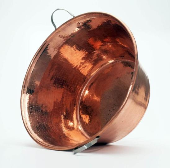 """Sertodo Copper Permian Copper Large 20"""" Basin"""