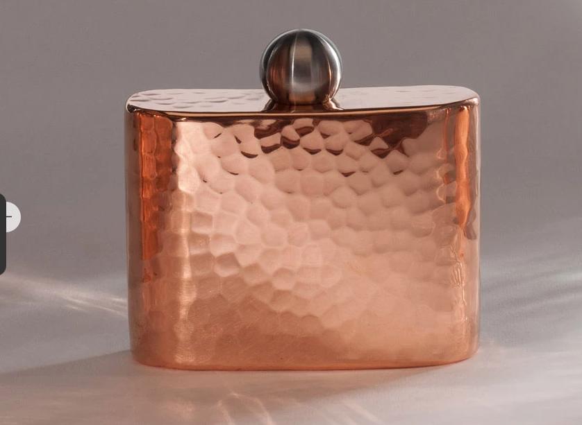 Sertodo Copper Espadín Petit Copper Hip Flask