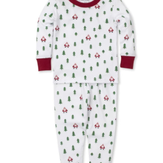 Kissy Kissy PJs Christmas Cheer -Pajama Set Snug Size 6