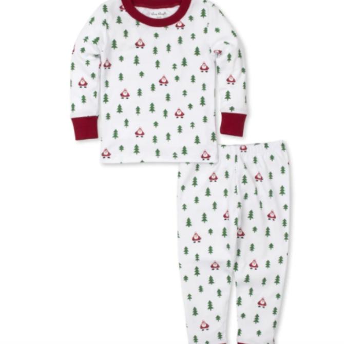 Kissy Kissy PJs Christmas Cheer -Pajama Set Snug Size 4