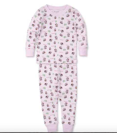 Kissy Kissy Slippery Slopes Pajama Set Pink 18-24 Month