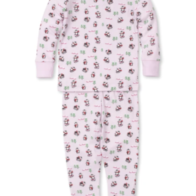 Kissy Kissy Slippery Slopes Toddler Pajama Set - Pink Size 6