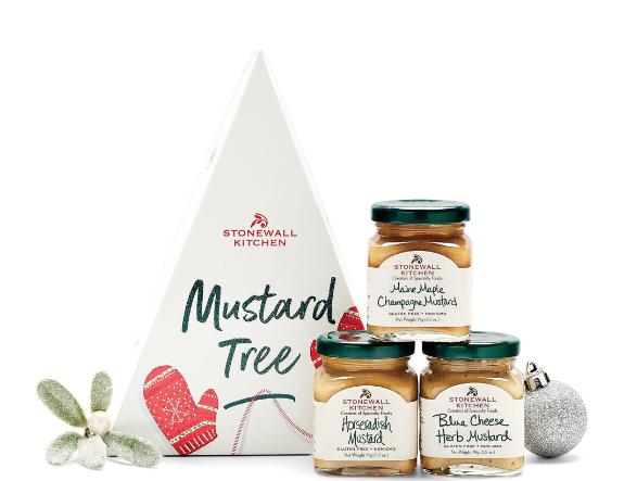 Stonewall Kitchen Mustard Tree Holiday 2021