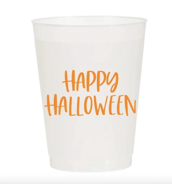 Sip Hip Hooray Happy Halloween Reusable Cups - Set of 10