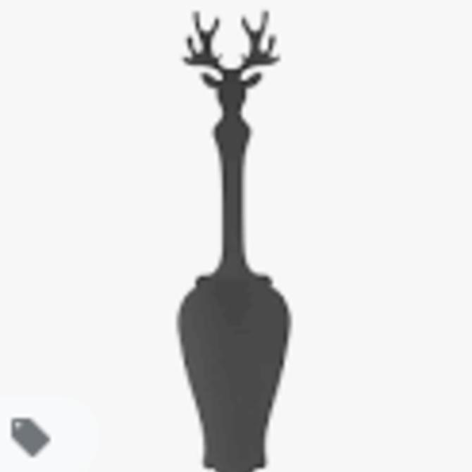 Sabre Tart Slicer -  Deer - Dark Grey