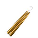 "Creative Candles, LLC METALLIC GOLD 7/8""X9"" TAPER  PAIR"