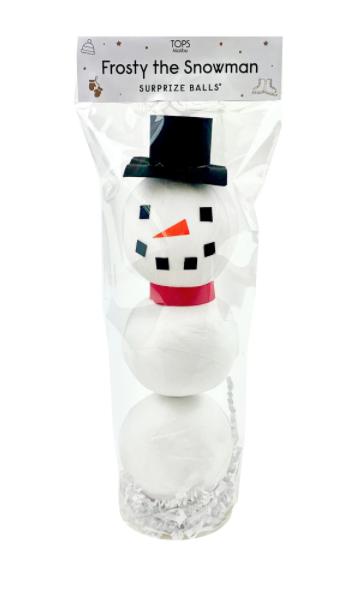 Tops Malibu Frosty Snowman Surprise Ball
