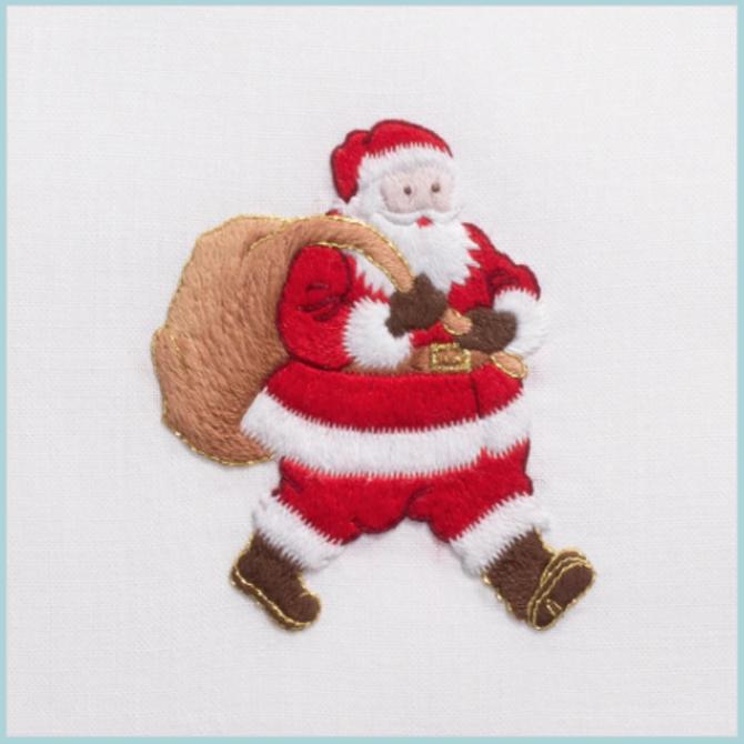 Henry Handwork Santa Hand Towel