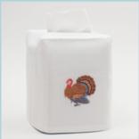 Henry Handwork Turkey Tissue Box Cover