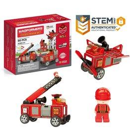 magnatiles Magformers Rescue Set 50pc