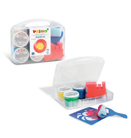 kidsource Finger Paint Kit/carryCase