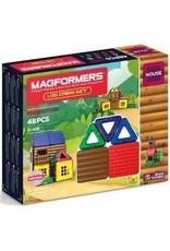 magformers log cabin magformers 48pc