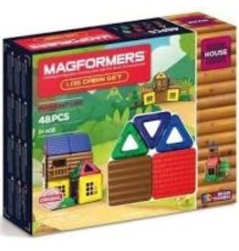 magformers Log Cabin Magformers 48pc
