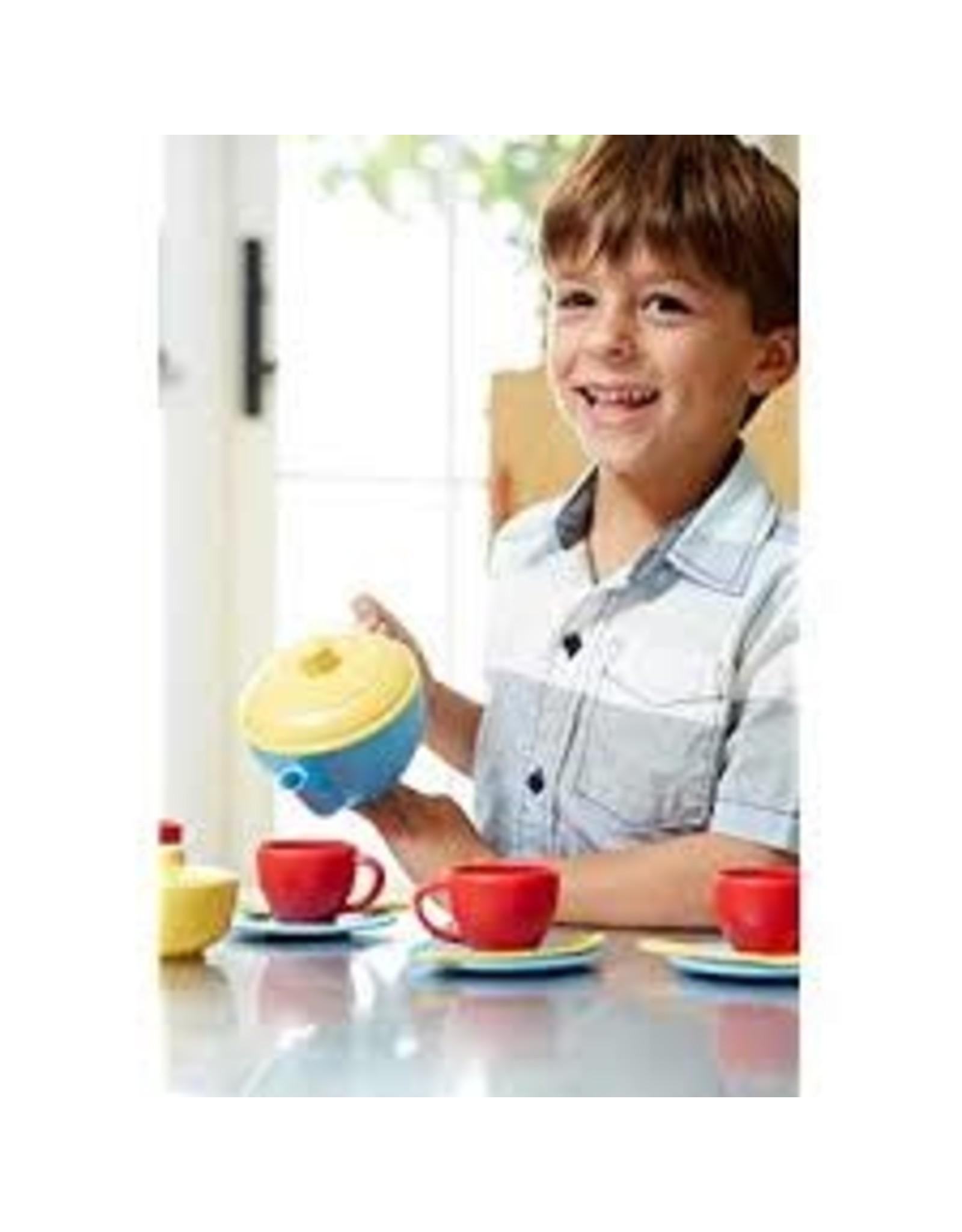 green toys Tea Set - blue  teab-1074
