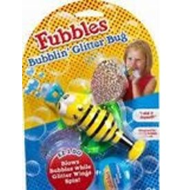 little kids Fubbles Bubblin Glitter Bug