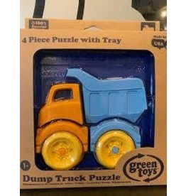 green toys Dump Truck 3D Puzzle pzdt-1161 green toys