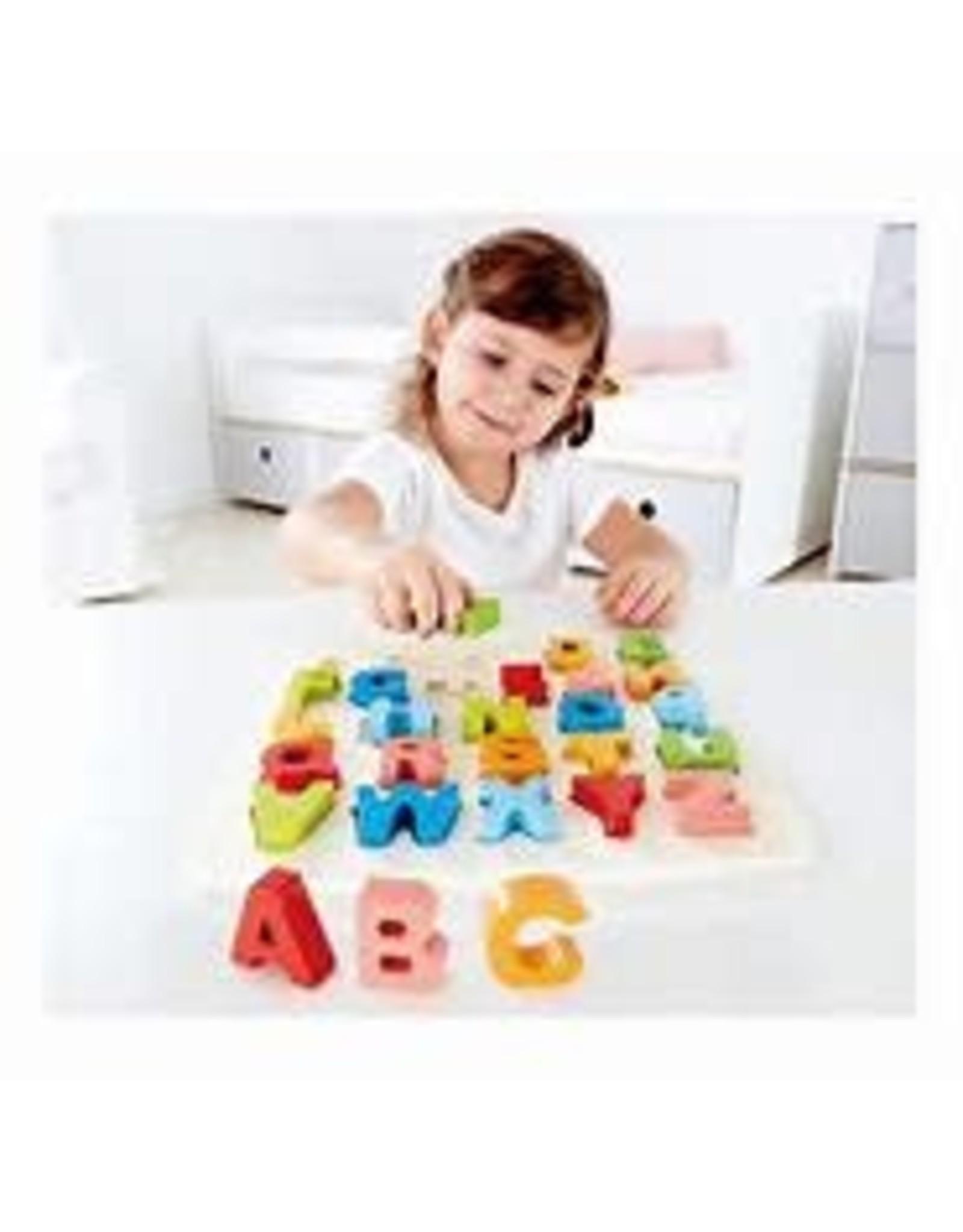 hape Chunky Alphabet Puzzle   e1551 Hape