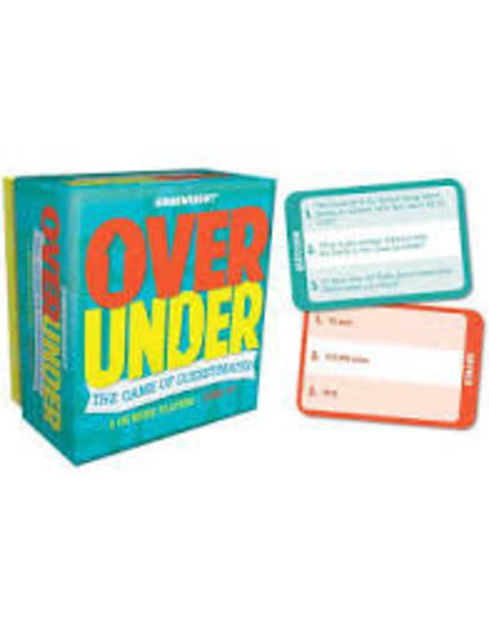 Gamewright Over/Under  11025D