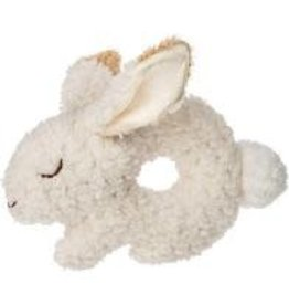 mary meyer Oatmeal Bunny ring  rattle  41708