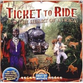Ticket to Ride: Map Collection: Volume 3 - The Heart of Africa