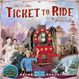 Ticket to Ride: Map Collection: Volume 1 - Team Asia & Legendary Asia