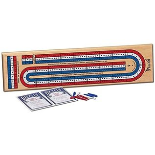 Bicycle-3-Track Cribbage Board
