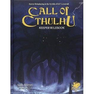 Call of Cthulhu: 7th ed Keeper's Rulebook