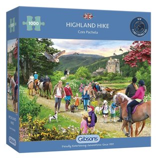 Gibsons Puzzle: 1000 Highland Hike
