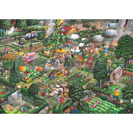 Gibsons Puzzle: 1000 I Love Gardening