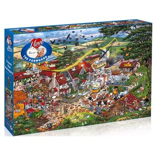 Gibsons Puzzle: 1000 I Love the Farmland