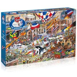 Gibsons Puzzle: 1000 I Love the Weekend