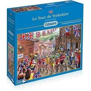 Gibsons Puzzle: 1000 Le Tour de Yorkshire