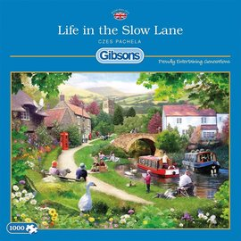 Gibsons Puzzle: 1000 Life in the Slow Lane