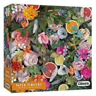 Gibsons Puzzle: 1000 Paper Flowers