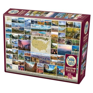 Puzzle: 2000 National Parks of the United States